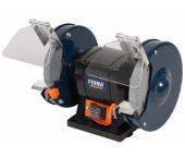 Ferm BGM1020 Dubbele tafelslijpmachine - 250W - 150 x 12,7 x 20/40mm