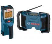 Bosch 06159940CJ Wallscanner (D-Tect 150) & 10.8V Li-Ion Accu bouwradio (GML 10.8 V-LI)