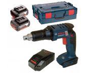 Bosch GSR 18 V-EC TE 18V Li-Ion accu gipsschroefmachine / bandschroefmachine set (2x 5.0Ah accu) in L-Boxx - koolborstelloos - 06019C8006