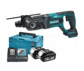 Makita DHR241RTJ 18V Li-Ion Accu SDS-plus combihamer set (2x 5.0Ah accu) in Mbox - 2J