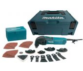 Makita TM3000CX3J Multitool + 42 delige accessoireset in Mbox - 320W