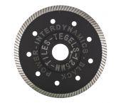 InterDynamics 304115 BlackPower Standard Diamantdoorslijpschijf - 115 x 22,23 x 1,2mm - tegels
