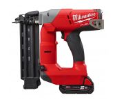 Milwaukee M18 CN18GS-202X 18V Li-Ion Accu brad tacker set (2x 2.0Ah accu) in HD Box - 16-54mm - 18 Gauge - 4933451573