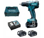 Makita DDF459RT3J 18V Li-Ion accu schroef-/boormachine in mbox (3x 5,0Ah accu) - koolborstelloos - 45Nm