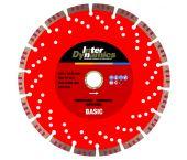 InterDynamics 999104 Basic Diamantdoorslijpschijf - 125 x 22,23 x 2,6mm - universeel