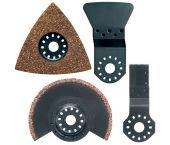 Makita B-30592 4 delige Multitool accessoire set