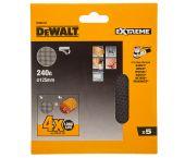 DeWalt DTM3107 Mesh schuurgaas - K240 - 125mm (5st) - DTM3107-QZ