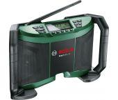 Bosch EasyRadio 12 12V Li-Ion accu radio body - aux-in - netstroom & accu - 06039B1001