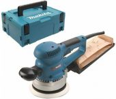 Makita BO6030J Excentrische schuurmachine in Mbox - 310W - 150mm - variabel