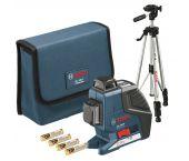 Bosch GLL 2-80 P kruislijnlaser in tas & bouwstatief (BT 150) - 40-80m - 0601063205