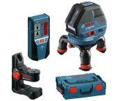 Bosch GLL 3-50 lijnlaser + BM 1 wandhouder + LR 2 ontvanger in L-Boxx  - 0601063803