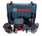 Bosch GCL 2-50 C 12V Li-Ion accu Kruislijnlaser in etui set (1x 2Ah accu) in L-Boxx - 20m - 0601066G03