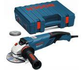 Bosch GWS 15-125 CITH Haakse slijper in koffer - 1500W - 125mm - variabel - 0601830407