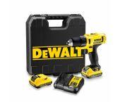 DeWalt DCD710D2 10.8V Li-Ion accu boor-/schroefmachine set (2x 2.0Ah accu) in koffer - DCD710D2-QW