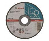 Bosch 2608603396 Expert Rapido Doorslijpschijf - 125 x 22,23 x 1mm - metaal