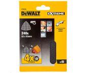 DeWalt DTM3095 Mesh Schuurgaas Delta - K240 - 93x93mm (5st) - DTM3095-QZ