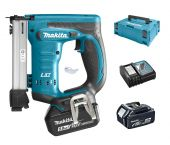 Makita DST221RTJ 18V Li-Ion accu nietmachine set (2x 5.0Ah accu) in Mbox - 10-22mm