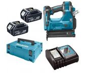 Makita DBN500RTJ 18V Li-Ion Accu brad tacker set (2x 5.0Ah accu) in Mbox - 15-50mm - 18 Gauge