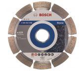 Bosch 2608602598 Standard Diamantdoorslijpschijf - 125 x 22,23 x 1,6mm - steen