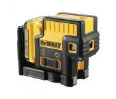 DeWalt DCE085D1G 10,8V Li-Ion accu zelfnivellerende 5 puntlaser (1x 2,0Ah accu) - 30m - DCE085D1G-QW