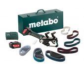 Metabo RB 18 LTX 60 SET 18V Li-Ion Accu buizenslijpmachine + accessoire set (2x 5.2Ah accu) in koffer