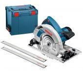 Bosch GKS 85 G Cirkelzaag en geleiderail in L-Boxx - 2200W - 235mm - 060157A902