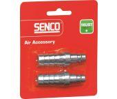 Senco 4000230 Plug universeel - Slang 12,7mm - (2st)
