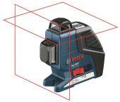 Bosch GLL 2-80 P kruislijnlaser in tas - 40-80m - 0601063204