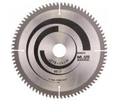 Bosch 2608640447 Cirkelzaagblad - 216 x 30 x 80T - Universeel