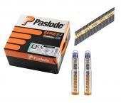 Paslode 142035 Stripspijker glad blank + gaspatronen - 3,1x90mm (2500st)