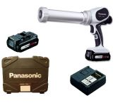 Panasonic EY3640LS1S 14.4V Li-Ion Accu lijm- en kitspuit set (1x 4.2Ah accu) incl. duohouder in koffer