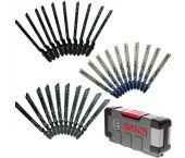 Bosch 2607010903 30 delig Decoupeerzaagblad set Basic - Hout / Metaal