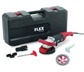 Flex LD 18-7 125 R Turbo-Jet Kit Betonschuurder in koffer - 1800W - 125 mm - 408.603