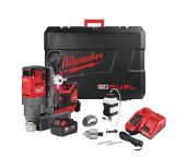 Milwaukee M18 FMDP-502C 18V Li-Ion accu Magneetboormachine set (2x 5.0Ah accu) in koffer - koolborstelloos - 4933451012