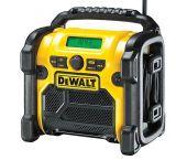 DeWalt DCR020 10.8-18V Li-Ion Accu bouwradio - DAB+ - netstroom & accu - DCR020-QW