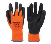 Silverline 736809 Werkhandschoenen - Fel oranje - L - 1 paar