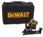 Dewalt DCE0811D1R 10,8V Li-Ion accu Kruislijnlaser 360 graden set (1x 2,0Ah accu) in koffer - rood - 15m - DCE0811D1R-QW
