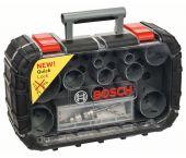 Bosch 2608580887 17-Delige gatzagenset incl. Q-Lock adapter in cassette
