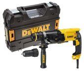 DeWalt D25134K SDS-plus Combihamer incl. snelspanboorkop in koffer - 800W - 2,8J - D25134K-QS