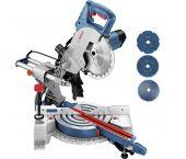Bosch GCM 800 SJ Afkortzaag met 3 extra Cirkelzaagbladen - 1400W - 216 x 30mm - 06159975L9
