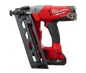 Milwaukee M18 CN16GA-202X 18V Li-Ion Accu brad tacker set (2x 2.0Ah accu) in HD Box - 32-63mm - 16 Gauge - 4933451570