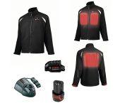 Bosch 061880000J 10,8V Li-Ion accu professional heat jacket full version set (1x 2,0Ah accu) - maat L