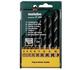 Metabo 627202000 8-delige Houtboren set in cassette - 3-10mm
