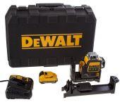 DeWalt DCE0811D1G 10,8V Li-Ion accu Kruislijnlaser 360 graden set (1x 2,0Ah accu) in koffer - groen - 15m - DCE0811D1G-QW