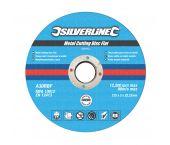 Silverline 349754 Slijpschijf - Metaal - 125 x 3 x 22,23mm (10st)