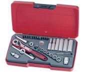 """Teng Tools T1435AF 35-delige Doppenset met ratel - 1/4"""" - 172470205"""