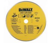 DeWalt DT3734 Diamantdoorslijpschijf - 250 x 25,4mm - keramiek - DT3734-XJ