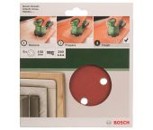 Bosch 2609256A34 Schuurschijf - K240 - 150mm (5st)