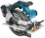Makita DHS630RTJ 18V Li-Ion Accu cirkelzaag set (2x 5.0Ah accu) in Mbox - 165mm