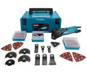 Makita TM3010CX2J Multitool + 42 delige accessoireset in Mbox - 320W